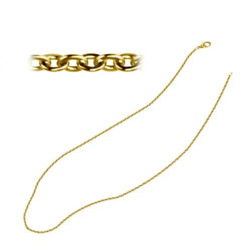 Picture of CADENA 2,2x2 mm SS 316 L, IP GOLD, 55 cm
