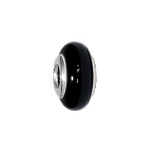 Picture of BEAD DONUT 5x13, ONYX NEGRO